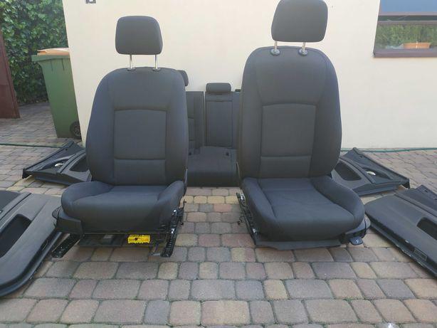 Fotel poduszki boczki BMW F10 F11 Europa podgrzewane Fotele