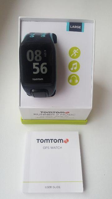 Zegarek sportowy biegowy TomTom Runner 2 Music