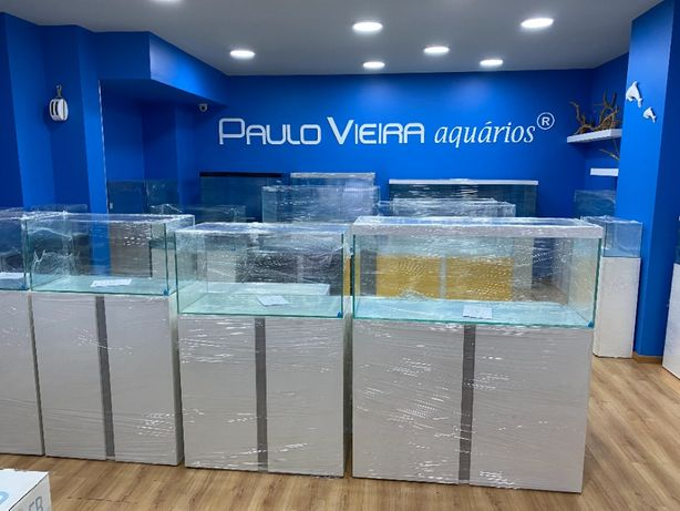 Aquario com móvel novo a preço de fábrica