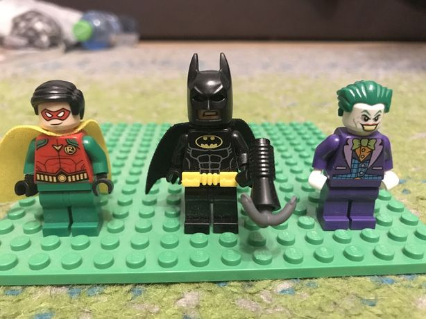 lego marvel super heroes batman robin joker figurki