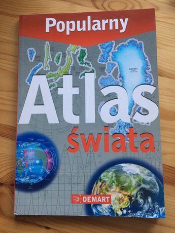Popularny Atlas Świata NOWY
