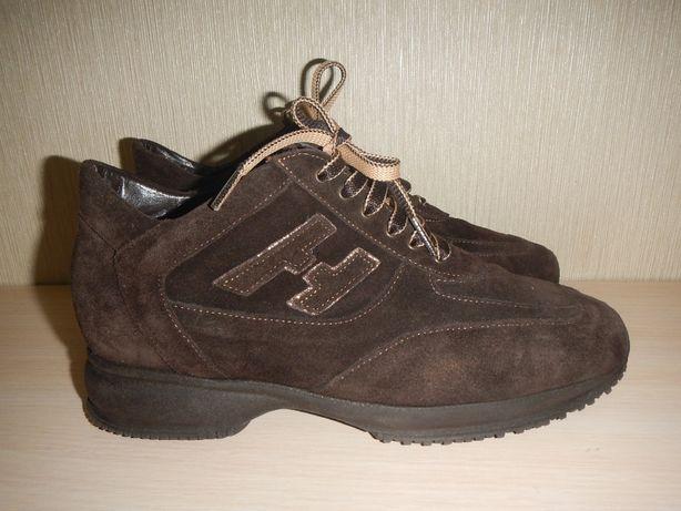 Кожаные туфли кроссовки portofino p.39-40 италия