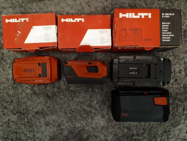 HILTI B 22/8.0 Нові !HILTI B 36/9.0, Зарядне C4/36-350, makita, bosch