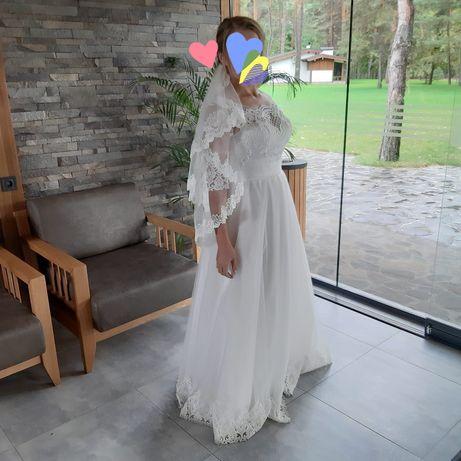 Платье свадебное р.46-48.цвет айвори.