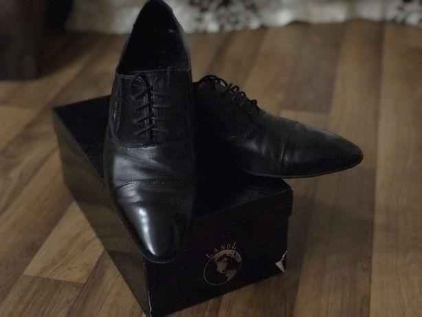 Туфли кожаные 42,43
