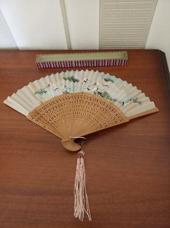 Старинный китайский веер