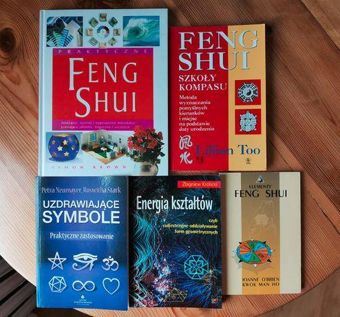 Sprzedam 5 książek w tematyce Feng Shui i energii kształtów