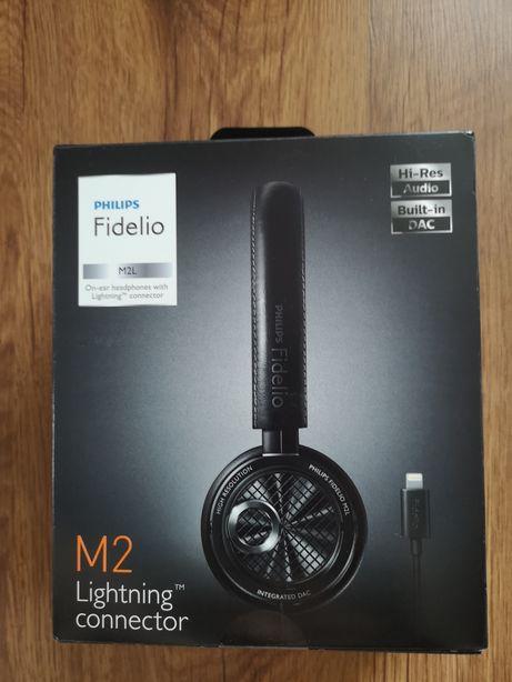 Philips Fidelio M2L słuchawki Iphone Nowe