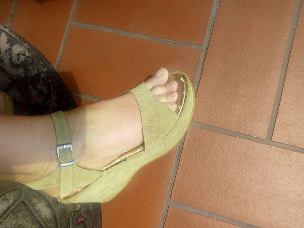 Włoskie sandały 38