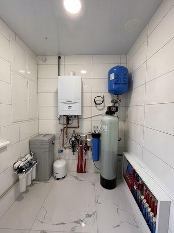 Очистка води, Фільтри. Пом'якшення води,Фільтрація води.