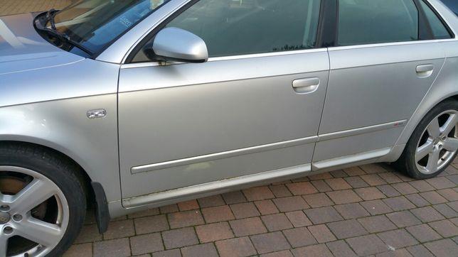 KOMPLETNE DRZWI przód prawe tylne tył lewe Audi A4 B7 2006 LY7W