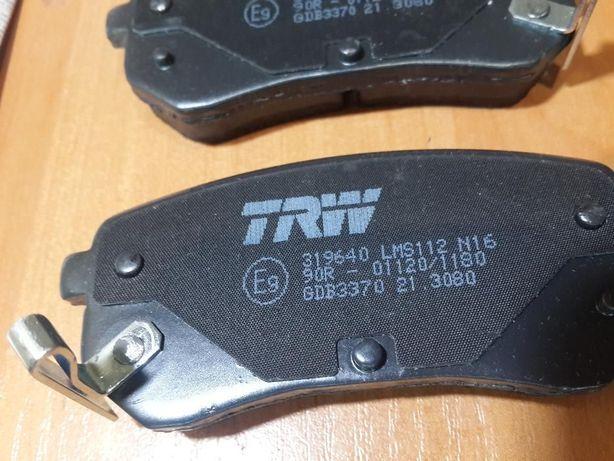 Колодки тормозные дисковые - TRW GDB 3370 (Picanto, i10, SURIA)
