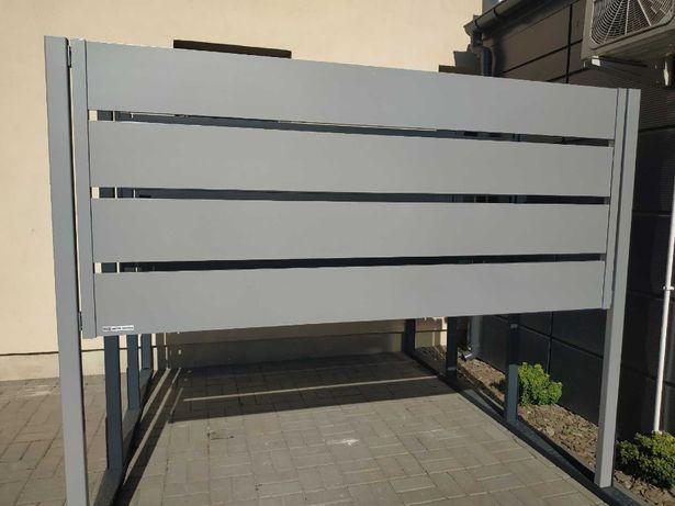 Przęsło ogrodzeniowe aluminiowe płot palisadowy, wysoka jakość