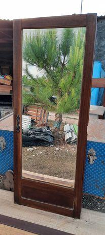 Espelho antigo de guarda fato