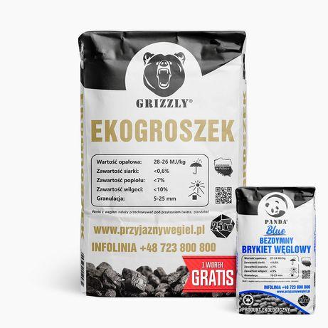 Ekogroszek PROMOCJA- Gratis 20kg Blue Panda