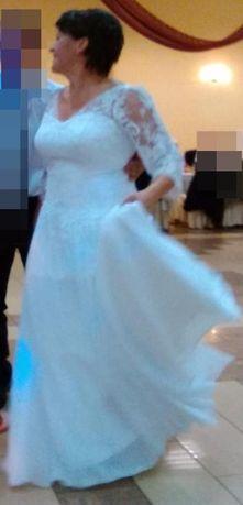Suknia ślubna, woalka, buty ślubne rozm.40, podwiązka gratis