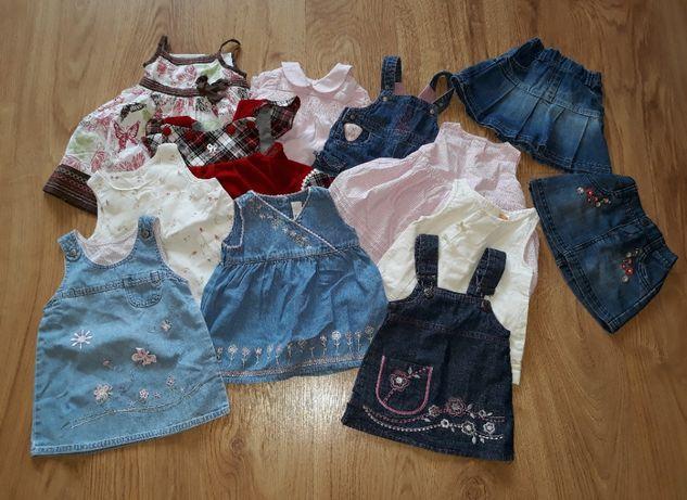 Paka sukienek rozmiary 56-74
