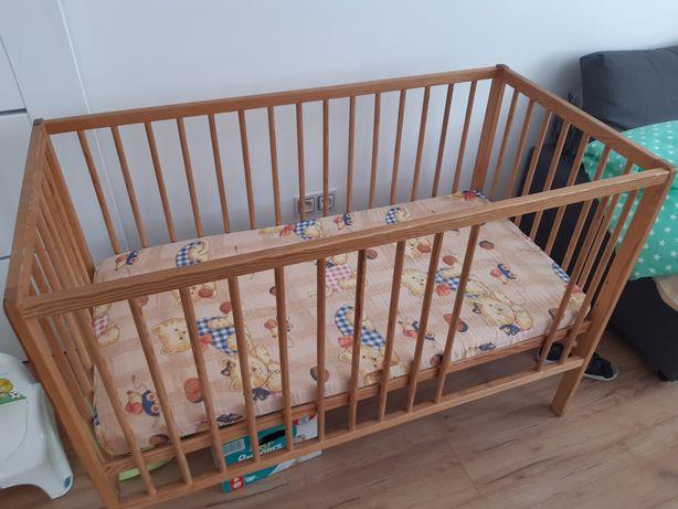 Łóżeczko dziecięce z materacem 60x120