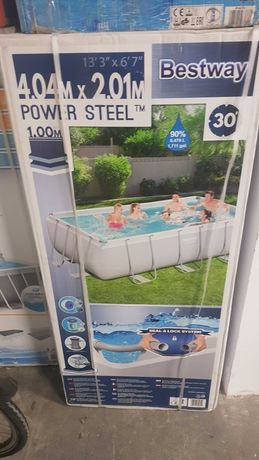Basen Bestway Steel Frame Pool 404x201x100cm 56441
