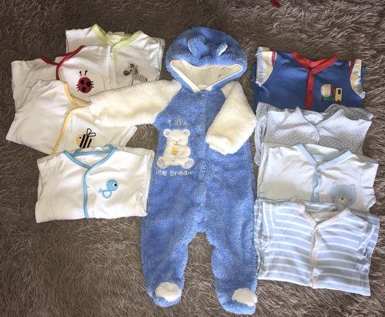 Набор фирменных вещей для малыша