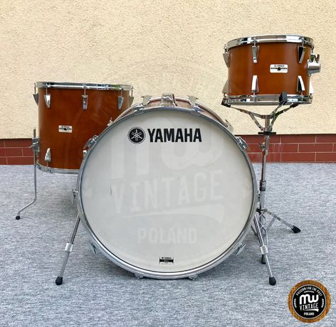 "Perkusja Yamaha YD-7000 24"", 13"", 18"" Real Wood Japan"
