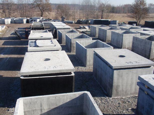 szambo betonowe 10 12 zbiornik betonowy producent transport montaż
