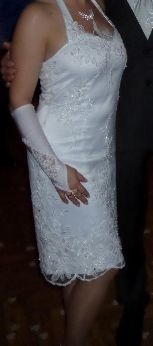 Piękna sukienka do ślubu,do ślubu cywilnego Olsztyn - image 1