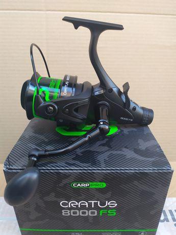 Набір.Катушка Carp-Pro Cratus 8000 Fs + 300м Лески в подарунок.