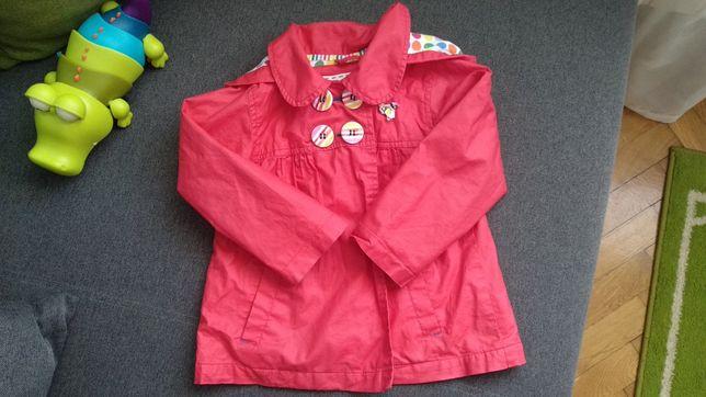 Śliczny płaszczyk kurtka wiosna mothercare 92 dla dziewczynki 18-24