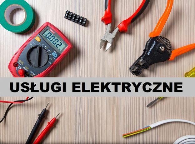 Usługi elektryczne Elektryk Awarie Instalacje Pomiary