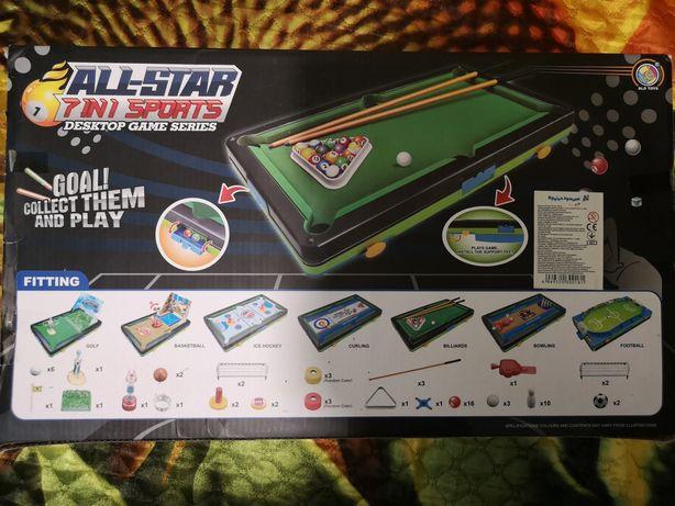 Настільний футбол і ще 6 ігор All Star
