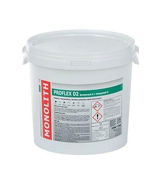 Zaprawa hydroizolacyjna na balkony, tarasy PROFLEX D2 - opak. 25kg