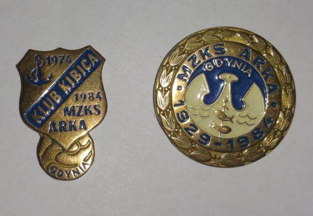 Arka Gdynia- odznaki