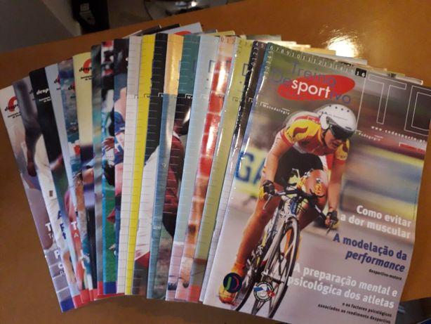 Coleção revistas - Treino Desportivo
