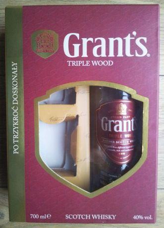 Butelka Po Whisky Grant's Triple Wood 0,7l Karton