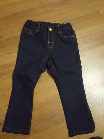 Spodnie/jeansy chłopięce H&M 92