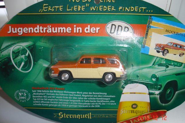 Zabawka samochodzik model MOSKWICZ 423H