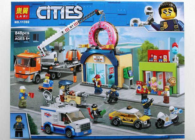Klocki o jakości lego City, Otwarcie sklepu z pączkami