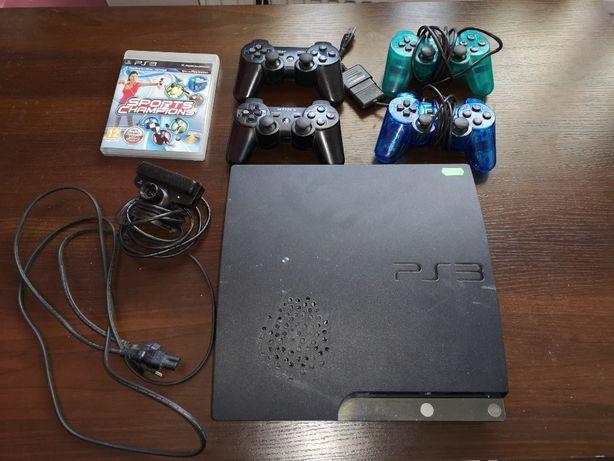 PS3 FAT 500GB CFW 4.82 + akcesoria