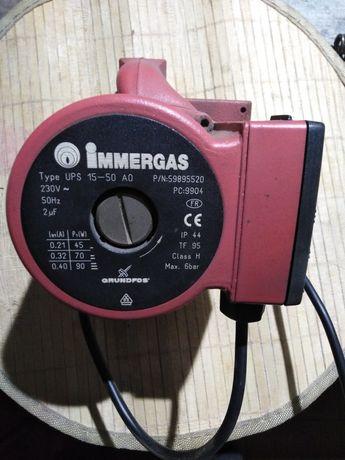 Pompa wody/kocioł gazowy/immergas