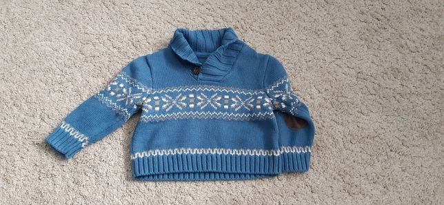Mothercare sweter dla chłopca 68 / 74