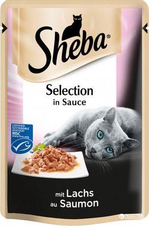 Sheba SHEBA Cuisine z łososiem w sosie - saszetka 85g
