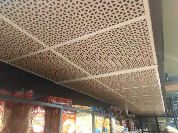 Декоративные панели на потолок МДФ / Стельові панелі