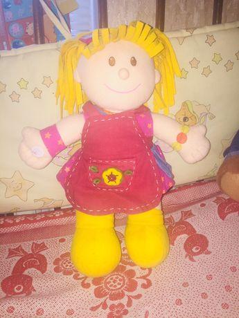 Мягкая, обучающая кукла ELC