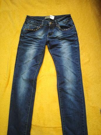 Spodnie jeansowe rozmiar 34