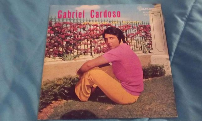 "Magnifico Disco Vinil de Gabriel Cardoso "" Festival do Amor"""