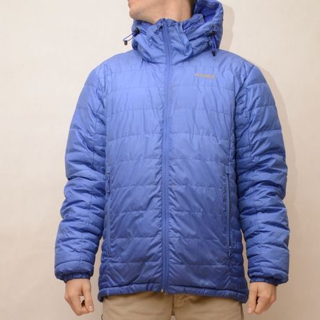 Bergans kurtka puchowa niebieska