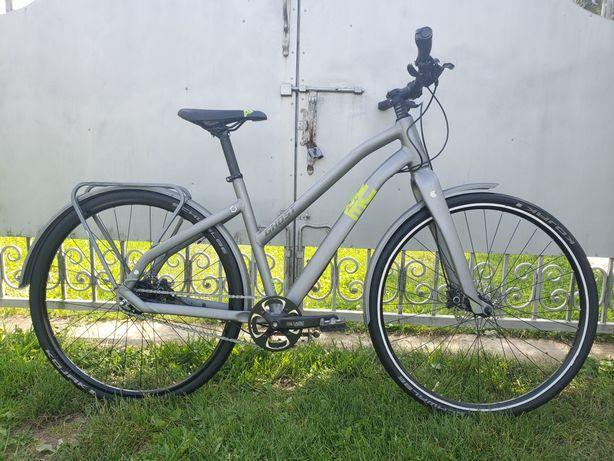Велосипед жіночий дамский дамка GHOST sqar alfine