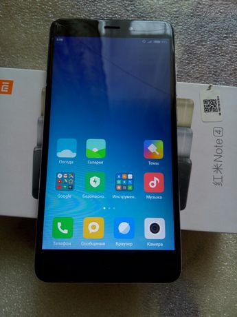 Телефон Xiaomi Redmi Note 4 (mtk) 2/16 б/у
