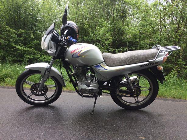 Продам мотоцикл Qingqi Burn 125 кубів